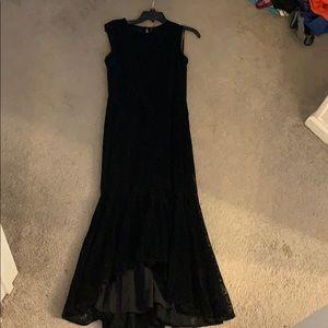 Maggy London Black Long Formal Mermaid Dress. NWOT